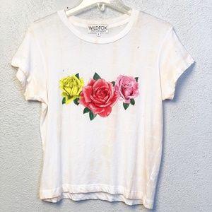 Wildfox Floral T-Shirt